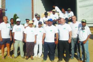 Container SIAFM  à Madagascar