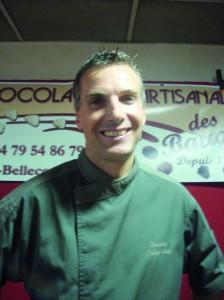 Frédéric Pellier-Cuit, chef chocolatier-pâtissier