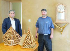 Jean-Marie Mazière et Richard Scanzi à Veyrins.