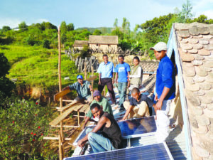 panneau solaires d'Electr'eau-partage