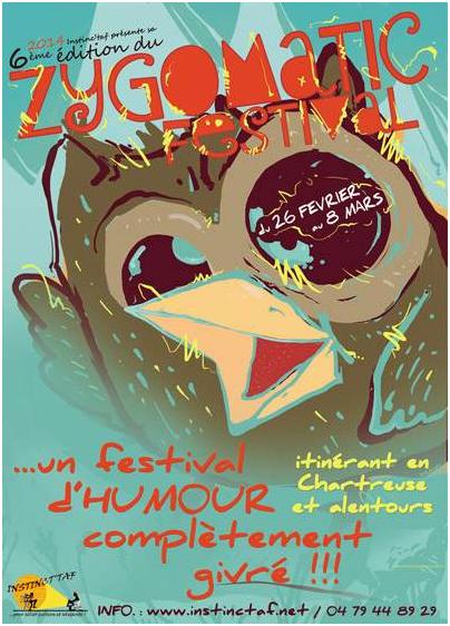 6ème édition du Zygomatic festival