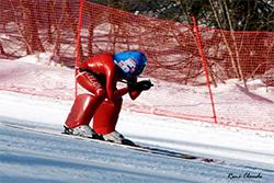 Epreuve de ski de vitesse au Revard avec Karine Dubouchet 15 février 2014 - Savoie Grand Revard