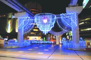 小倉駅のクリスマスイルミネーション