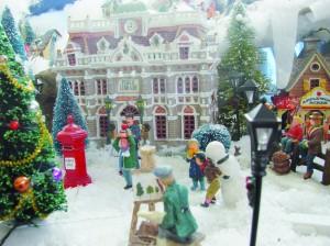 Le village de Noël d'Alain Villamor