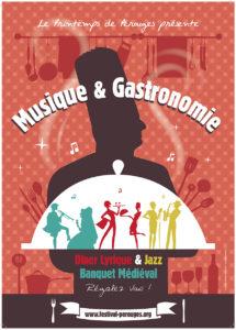 Musique et Gastronomie 2014 ballad et vous