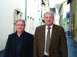 Photo : (de g.à d.) Raymond Garcia et Alain Gaudin