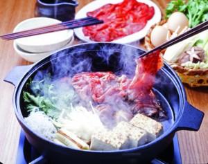 Sukiyaki fondue-japonnaise-ballad et vous