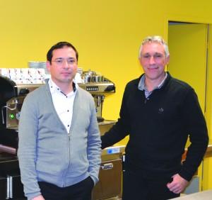 Didier Cortel et Lionel Labrousse