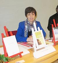 Salon du livre à Artemare : Annie Cluzel