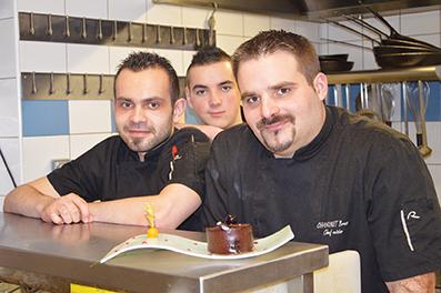 Bruno Chaninet, Yann Guyon, Julien Marie