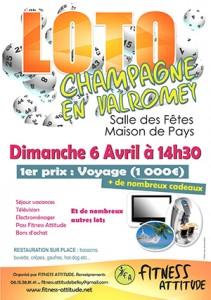 Fitness Attitude Loto Champagne en Valromey
