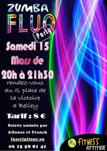 Fitness Attitude Zumba Fluo Party
