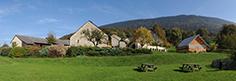 Vue panoramique sur le musée © coll. départementale des Musées de l'Ain / C. Monfray