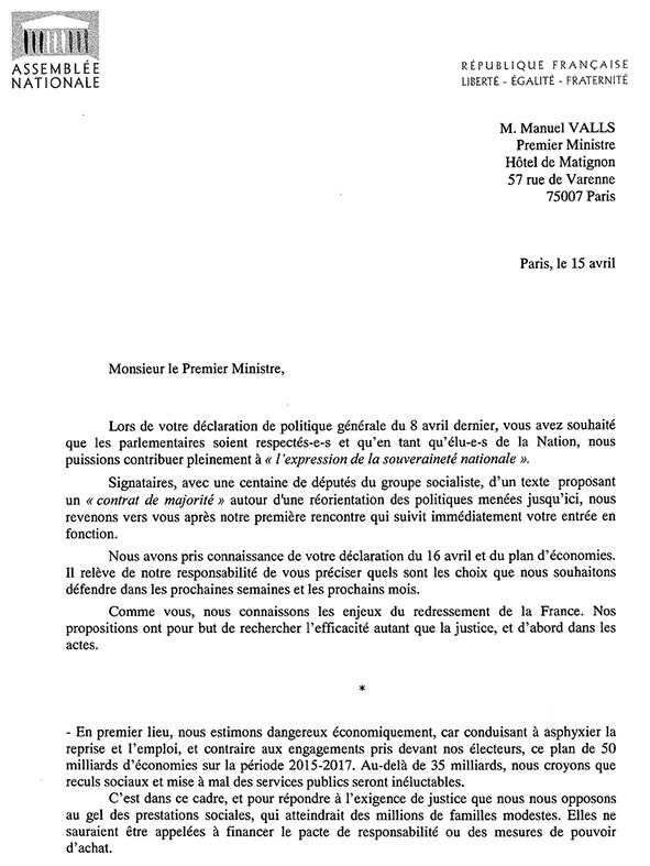 ANNE Lettre au Premier Ministre-1 BALLAD ET VOUS