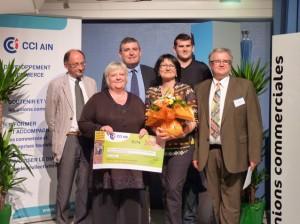 Prix spécial décerné à Pont-de-Vaux, d'une valeur de 300 €