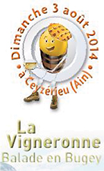 Balade en Bugey la Vigneronne Logo ballad et vous