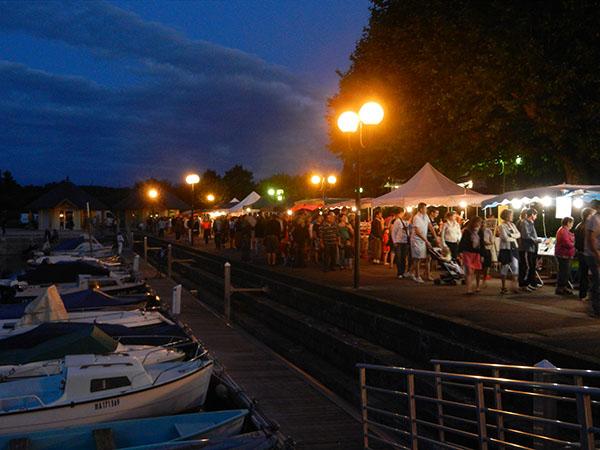 Bourget du lac march nocturne le 2 08 ballad et vous - Office de tourisme le bourget du lac ...