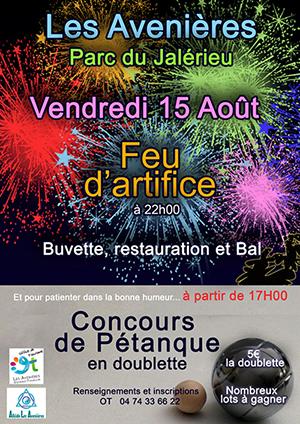OT Avenières feu 15 aout 2014
