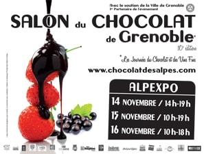 Grenoble 10e salon du chocolat les 14 15 et 16 for Salon vin grenoble