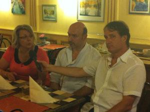 TV8Mont Blanc au restaurant Le Bouchon ballad et vous