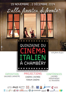 Chambéry Quinzaine du cinéma Italien ballad et vous