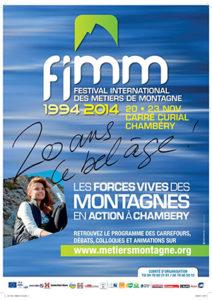 Chambéry affiche festival métier montagne ballad et vous