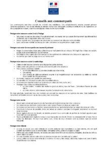 Conseils de protection des commerces ballad et vous-1