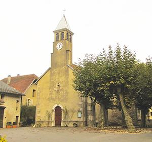 L'église de Saint Champ