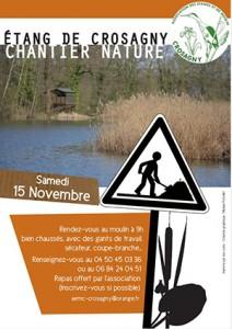 SAINT-FELIX - Chantier nature à l'étang de Crosagny ballad et vous