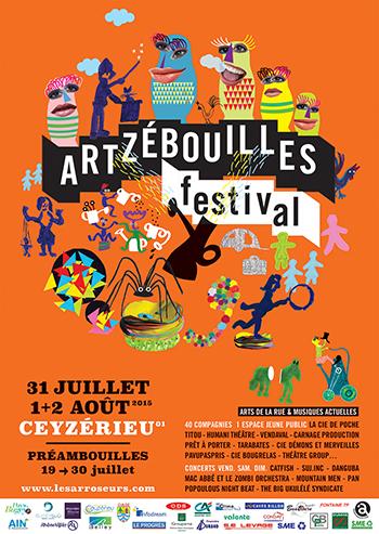Artzébouilles Festival Affiche ballad et vous