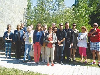 Lancement de saison touristique Bourget ballad et vous