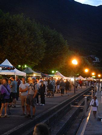 Aix les bains march nocturne le 2 ao t 18h ballad et vous - Office tourisme bourget du lac ...