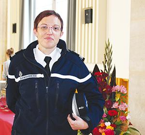Commandant gendarmerie Belley 2015 ballad et vous
