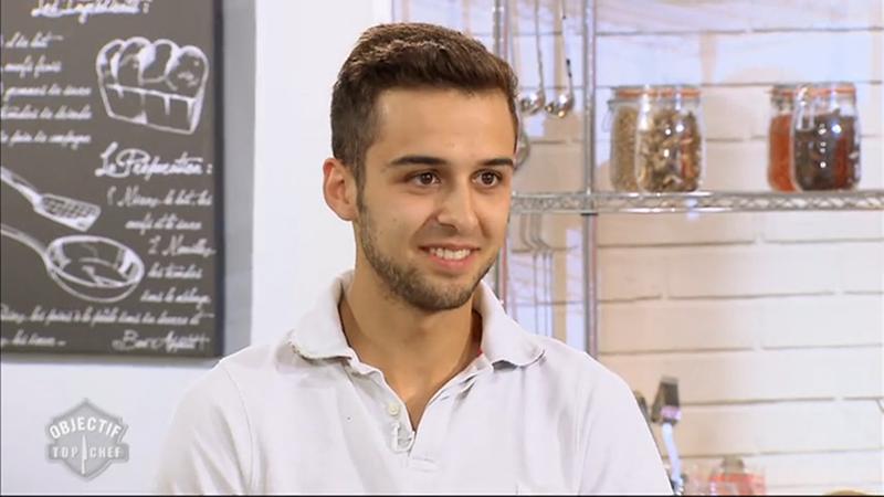Mathieu Masson candidat à Objectif Top Chef