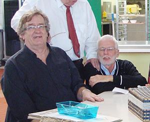 Jean-Paul Mollex et Thierry Fouard