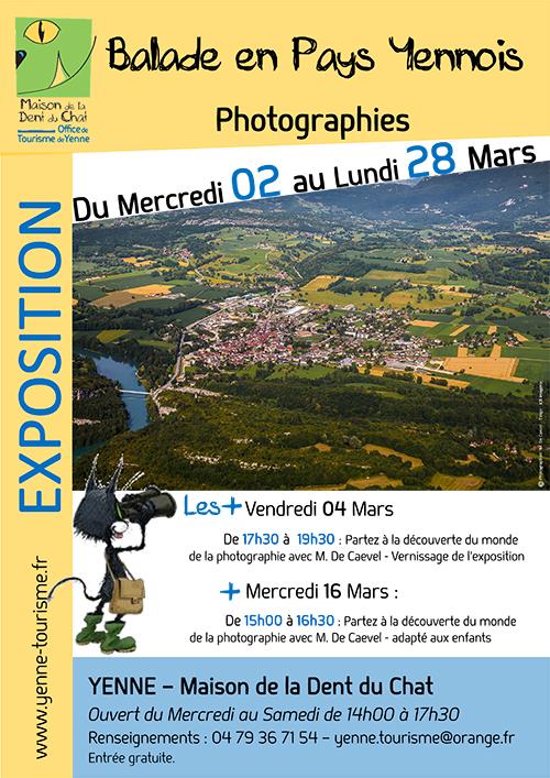 Exposition de photographies « Balade en Pays Yennois » à la Maison de la Dent du Chat ballad et vous