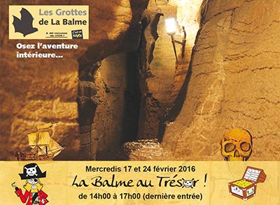 Les Grottes de la Balme Illustration Ballad'Ain février 2016 ballad et vous