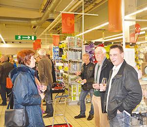 Belley Foire vins Carrefour Market ballad et vous