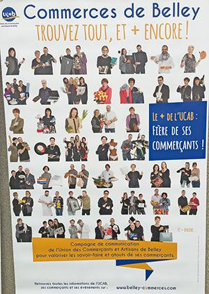UCAB Affiche commerces ballad et vous