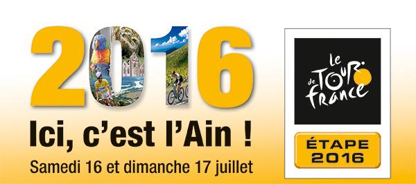 Logo Tour de France 2016 ballad et vous