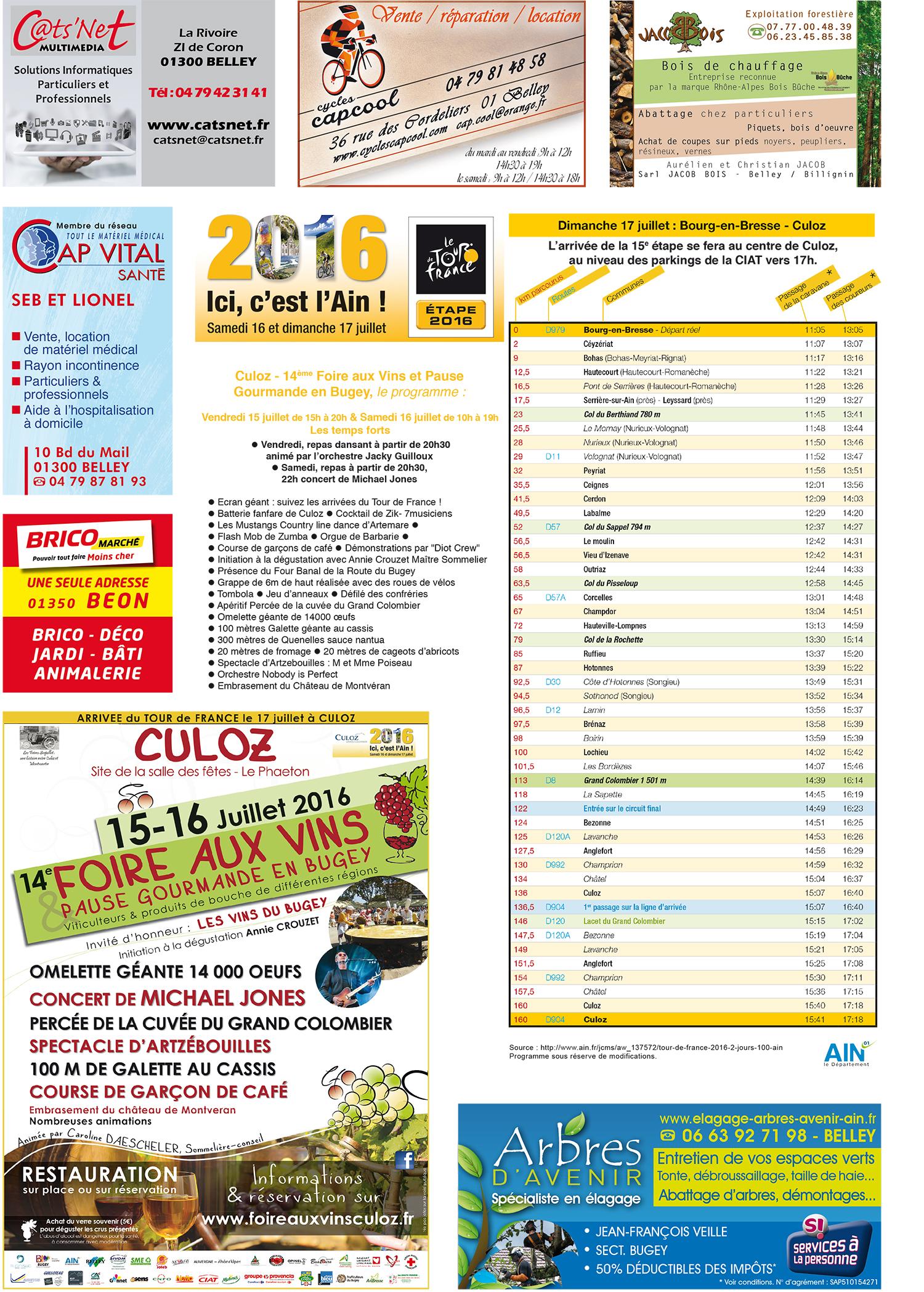 Page Tour de France 2016 1 ballad et vous