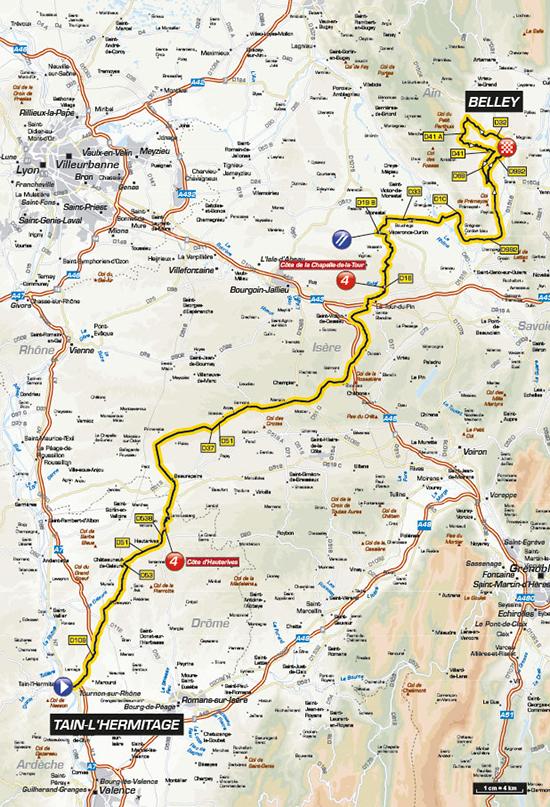 carte-Critérium-du-Dauphiné-belley-2016-ballad-et-vous