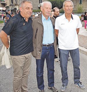 Les trois entraineurs