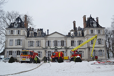 Château Divonne incendie 2 ballad et vous