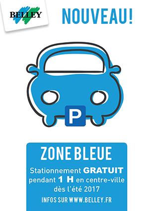 belley nouveau zone bleue stationnement gratuit 1h ballad et vous. Black Bedroom Furniture Sets. Home Design Ideas