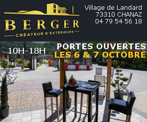berger jardin septembre chanaz